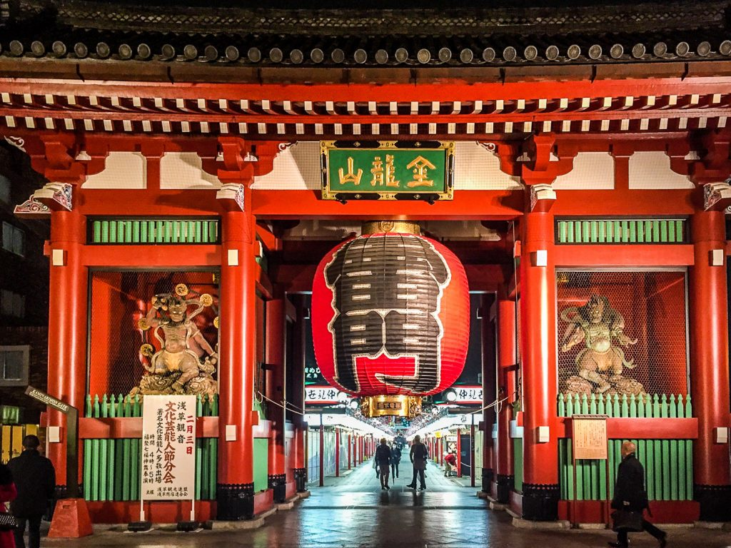 Be sure to stop by Senso-Ji temple during your two weeks in Japan