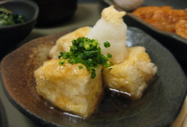 Japanese tofu (c) EatTalkTravel Japan