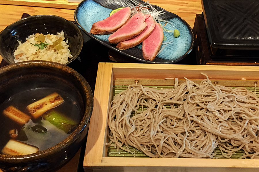 Also, try some soba noodles during your two weeks in Japan