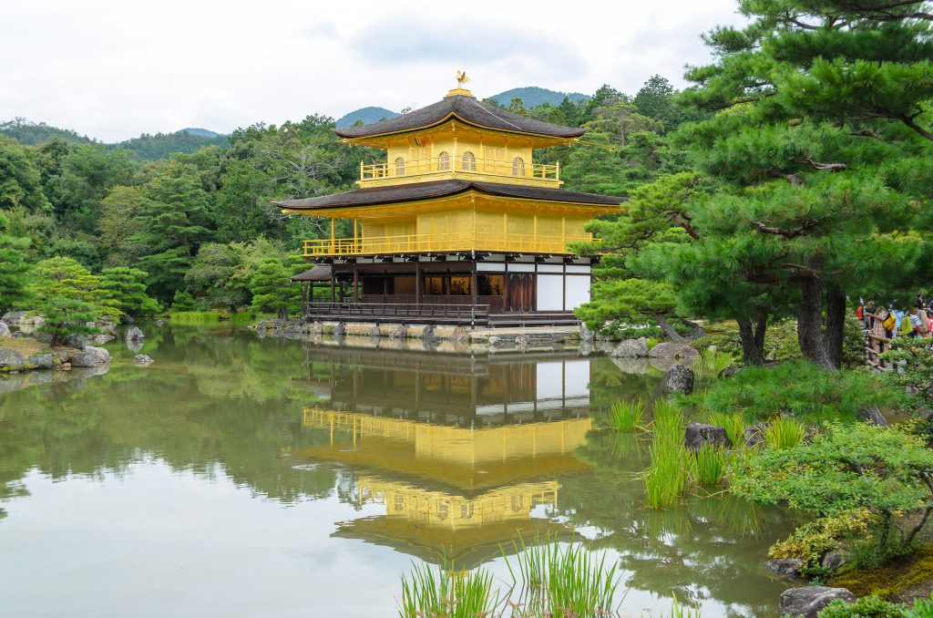 The golden temple in Kyoto is another must see for your two weeks in Japan